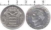 Изображение Монеты Монако 5 франков 1966 Серебро