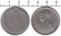 Изображение Мелочь Монако 20 франков 1947 Медно-никель XF