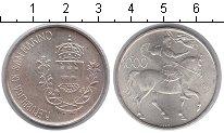 Изображение Монеты Сан-Марино 1.000 лир 1981 Серебро UNC 2000 лет со дня смер