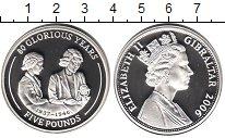 Изображение Монеты Гибралтар 5 фунтов 2006 Серебро Proof