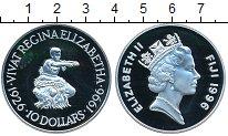 Изображение Монеты Фиджи 10 долларов 1996 Серебро Proof- Елизавета II
