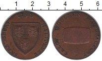 Изображение Монеты Великобритания 1/2 пенни 1793 Медь XF токен