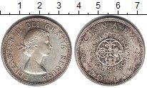 Изображение Монеты Канада 1 доллар 1964 Серебро VF Елизавета II
