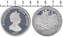 Изображение Монеты Острова Кука 1 доллар 2007 Серебро Proof- Выполнить свой долг