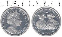 Изображение Монеты Гибралтар 1 крона 2002 Серебро UNC- Кристины Вильяма