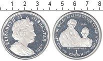 Изображение Монеты Гибралтар 1 крона 2001 Серебро Proof-