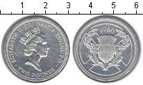 Изображение Монеты Великобритания 2 фунта 1986 Серебро Proof- Елизавета II