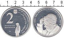 Изображение Монеты Израиль 2 шекеля 2008 Серебро Proof-
