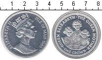 Изображение Монеты Остров Мэн 1 крона 1985 Серебро Proof- Елизавета II
