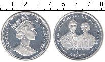 Изображение Монеты Великобритания Остров Мэн 1 крона 1999 Серебро Proof-