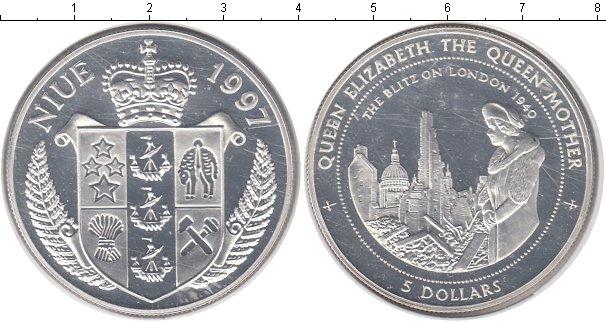 Картинка Монеты Ниуэ 5 долларов Серебро 1997
