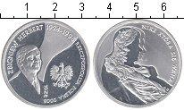 Изображение Монеты Польша 10 злотых 2008 Серебро Proof- Герберт Збижнев