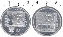 Изображение Монеты Польша 10 злотых 2009 Серебро Proof- Неймен