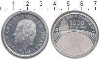 Изображение Монеты Испания 1.000 песет 1995 Серебро Proof- Хуан Карлос
