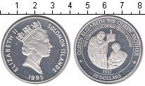 Изображение Монеты Соломоновы острова 10 долларов 1995 Серебро Proof- Коронация