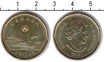 Изображение Мелочь Канада 1 доллар 2012  UNC- Утка. Кленовый лист.