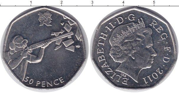 Монеты великобритании 50 пенсов где в свердловской области есть золото