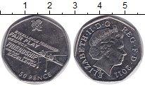 Изображение Мелочь Великобритания 50 пенсов 2011 Медно-никель UNC-