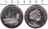 Изображение Мелочь Виргинские острова 1 доллар 2004 Медно-никель UNC-