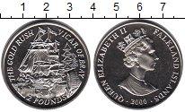 Изображение Мелочь Великобритания Фолклендские острова 2 фунта 2000 Медно-никель UNC-