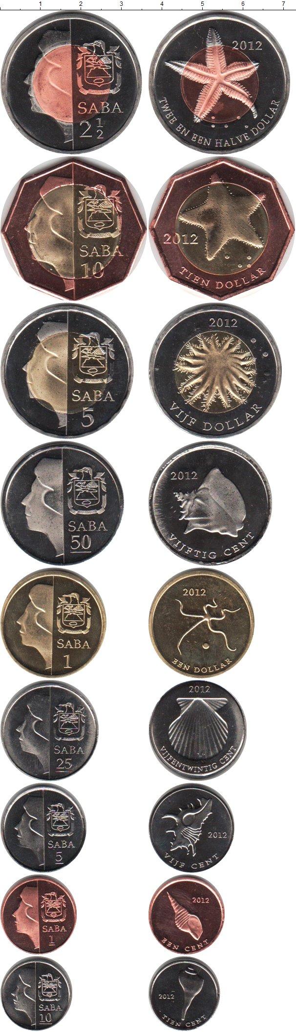 Картинка Наборы монет Саба Саба 2012  2012