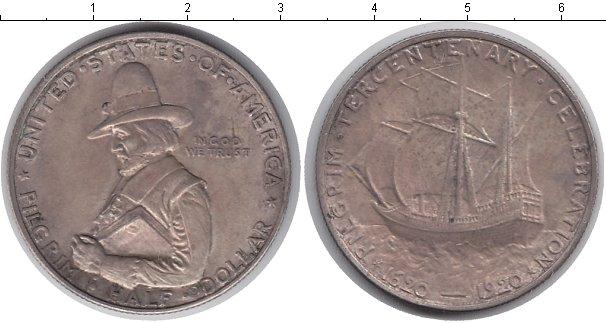 Картинка Монеты США 1/2 доллара Серебро 1920