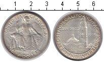 Изображение Монеты США 1/2 доллара 1935 Серебро XF Сан-Диего Тихоокеанс