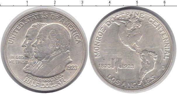 Картинка Монеты США 1/2 доллара Серебро 1923