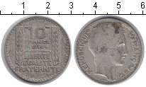 Изображение Монеты Франция 10 франков 1934 Серебро VF