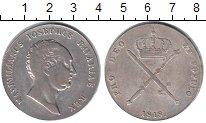 Изображение Монеты Бавария 1 талер 1818 Серебро VF