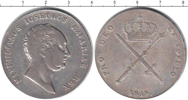 Картинка Монеты Бавария 1 талер Серебро 1818