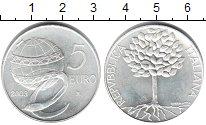Изображение Монеты Италия 5 евро 2003 Серебро UNC-