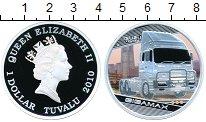 Изображение Монеты Тувалу 1 доллар 2010 Серебро Proof Исузу