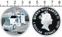 Изображение Монеты Тувалу 1 доллар 2010 Серебро Proof Грузовые автомобили