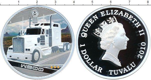 Картинка Монеты Тувалу 1 доллар Серебро 2010