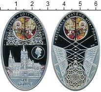 Изображение Монеты Ниуэ 1 доллар 2011 Серебро Proof Елизавета II Прага