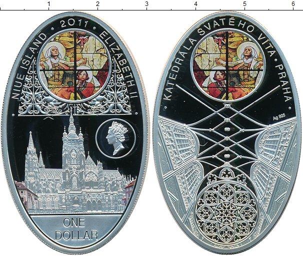 Картинка Монеты Ниуэ 1 доллар Серебро 2011