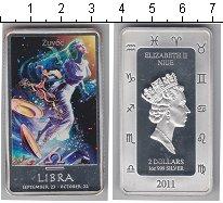 Изображение Монеты Ниуэ 2 доллара 2011 Серебро Proof Елизавета II Весы