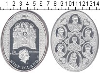 Изображение Монеты Новая Зеландия Ниуэ 50 долларов 2011 Серебро Proof