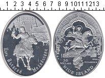 Изображение Монеты Ниуэ 50 долларов 2012 Серебро Proof Царь Алексей Михайло