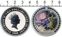 Изображение Монеты Острова Кука 2 доллара 2008 Серебро Proof Стойкий оловянный со