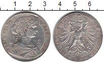 Изображение Монеты Франкфурт 1 талер 1858 Серебро VF
