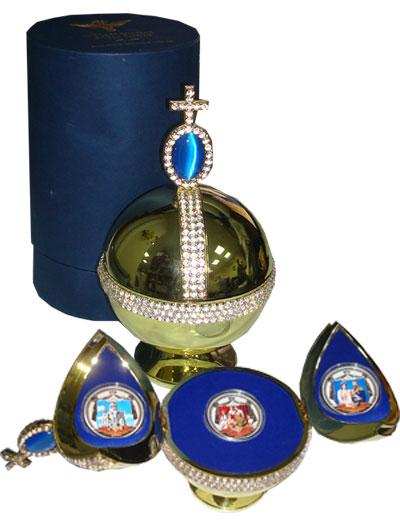 Изображение Подарочные наборы Фиджи Последняя русская королевская семья 2009 Серебро Proof