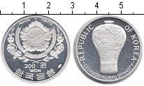 Изображение Монеты Корея 200 вон 1970 Серебро Proof-