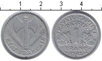 Изображение Мелочь Франция 1 франк 1942 Алюминий VF