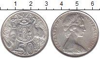 Изображение Мелочь Австралия 50 центов 1966 Серебро UNC- Елизавета II