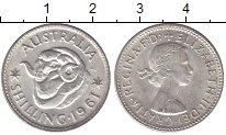 Изображение Мелочь Австралия 1 шиллинг 1961 Серебро XF