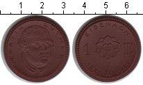 Изображение Монеты Саксония 1 марка 1921 Керамика UNC- Нотгельд г.Эйзенах.М