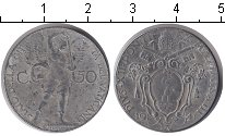 Изображение Монеты Ватикан 50 сентесимо 1941 Медно-никель  Понтифик Пий XII