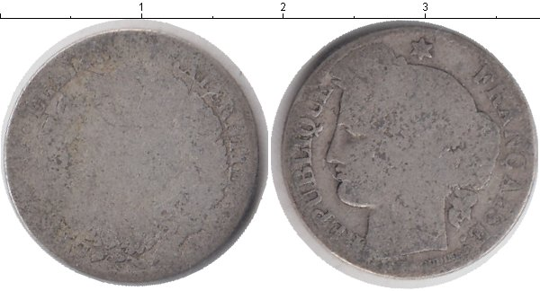 Картинка Монеты Франция 50 сантимов Серебро 0